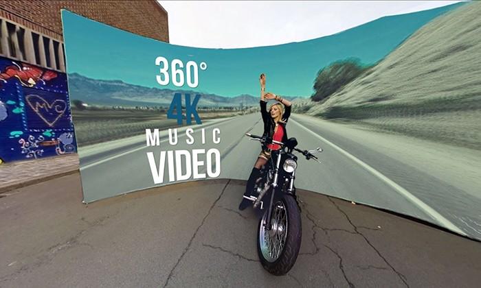 O primeiro videoclip em 360º no YouTube