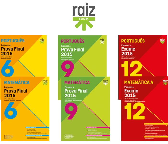 Ganha livros de preparação para os exames de Português e Matemática