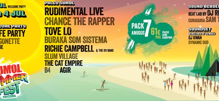 É apenas para te relembrar que o Sumol Summer Fest começa hoje!