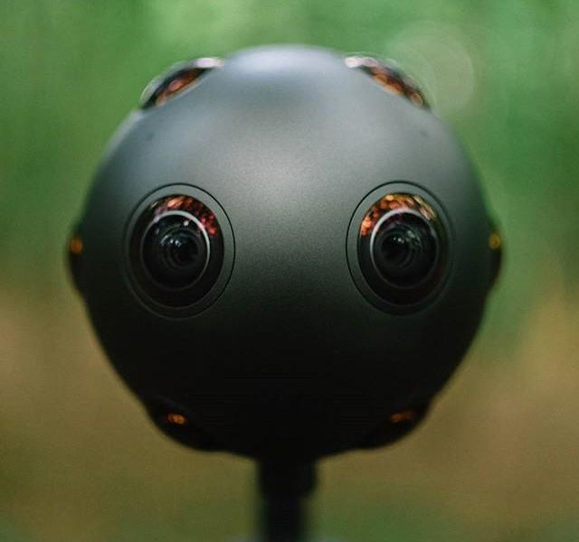 A câmara que filma realidade virtual