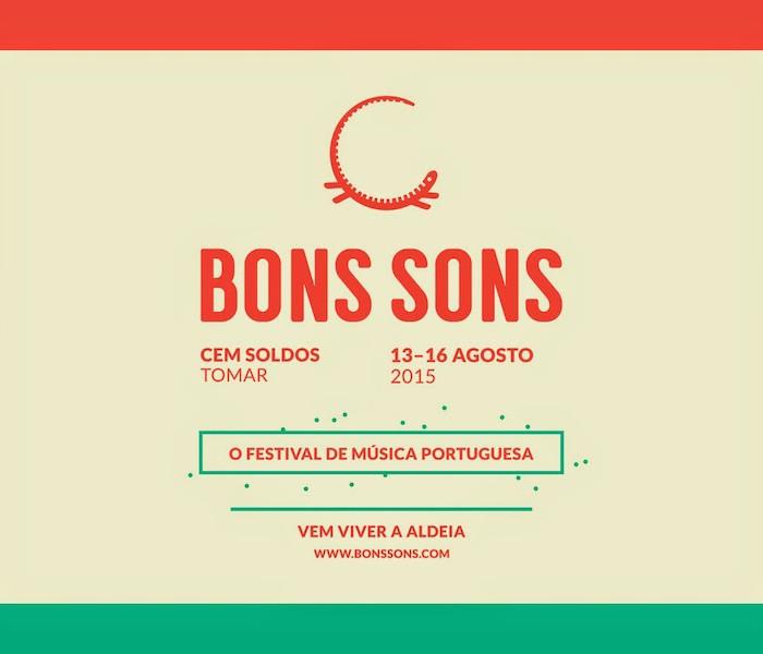 5 bilhetes diários para o Festival Bons Sons