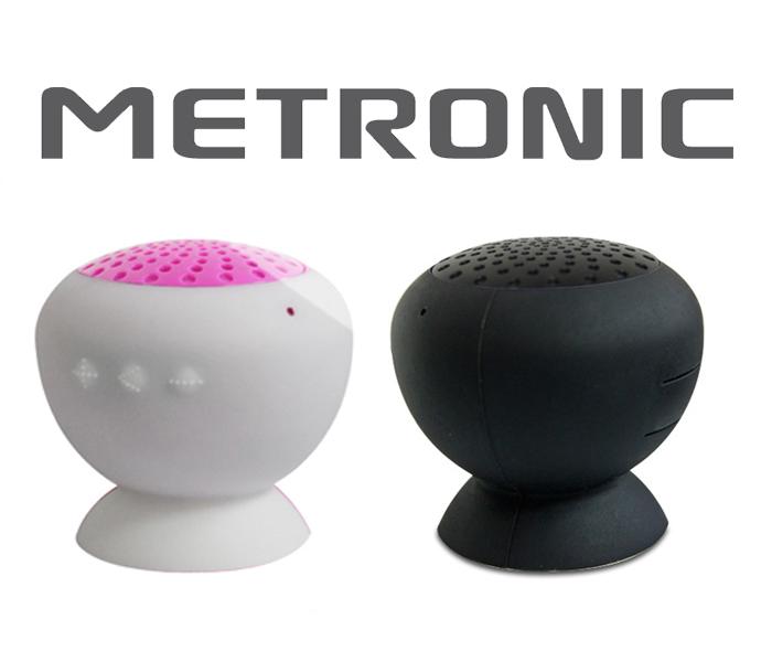 Música em todo o lado com as colunas Metronic
