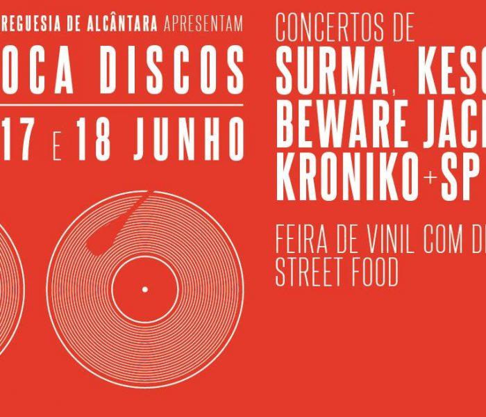 Hip Hop, street food e vinis no Alcântara Toca Discos!