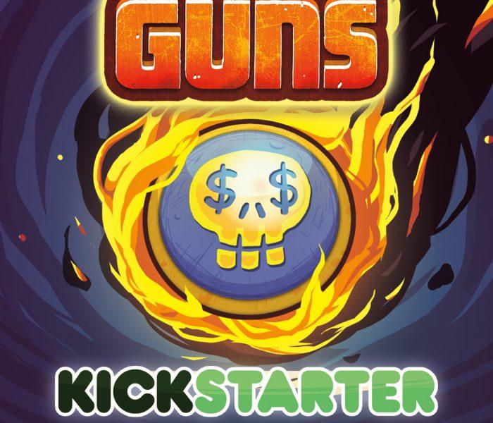 O jogo Greedy Guns está a chegar ao Kickstarter!