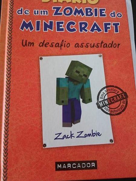 Queres saber como é o Diário de um Zombie do Minecraft?