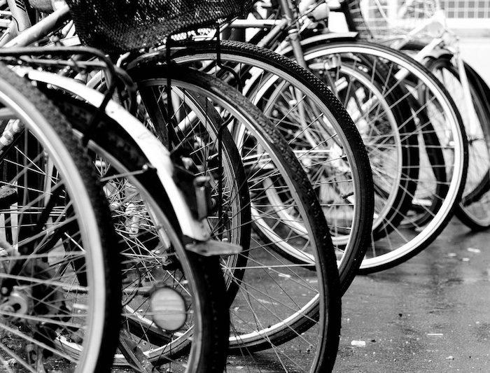 Uma bicicleta para usares na universidade