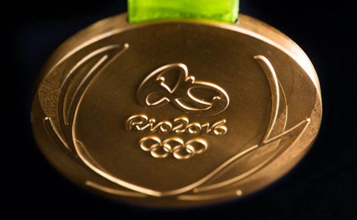 Medalhas olímpicas feitas de smartphones