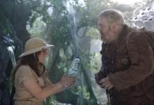 Hodor e Amy Farrah Fowler em campanha ambiental